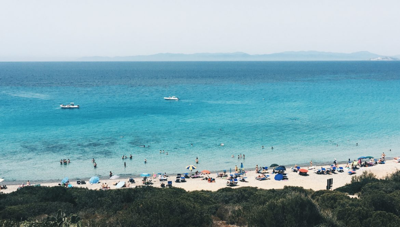 Playa de Cerdeña sureste