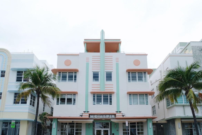 Arte Deco en Miami, Florida