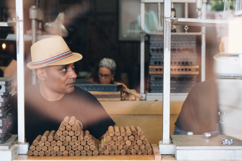 Puros en Little Habana, Miami