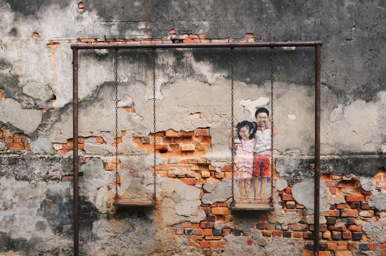 Street art de George Town