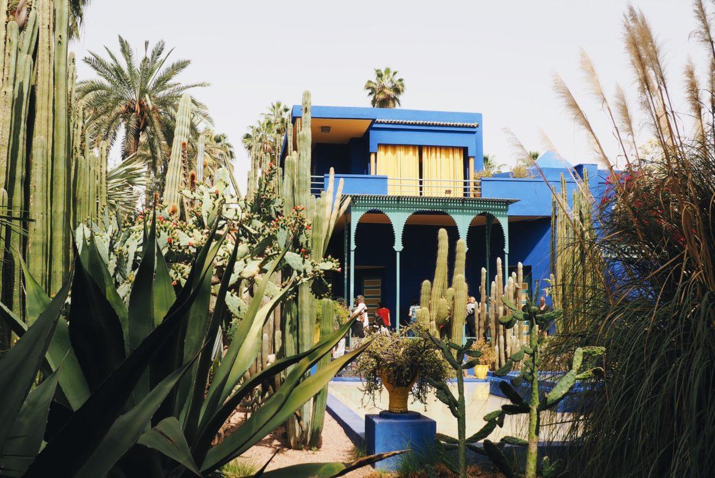 Jardin Majorelle en Marrakech