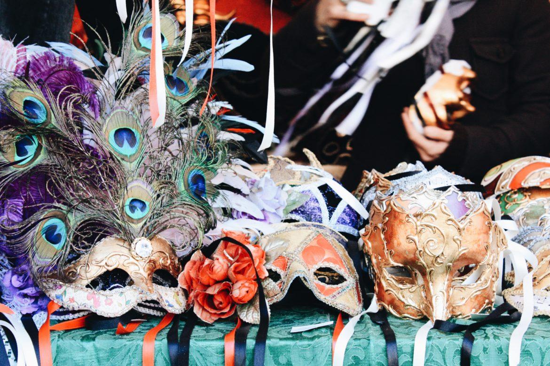 Máscaras de Carnaval de Veneci