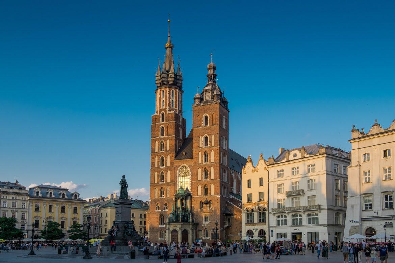 Centro histórico de la ciudad de Cracovia